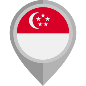 singapore flag transparent